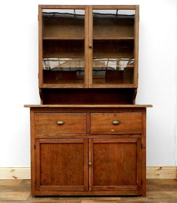 Vintage School Cupboard / Kitchen Dresser. - Folio 50 | Stourport