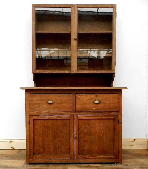 Vintage School Cupboard Dresser