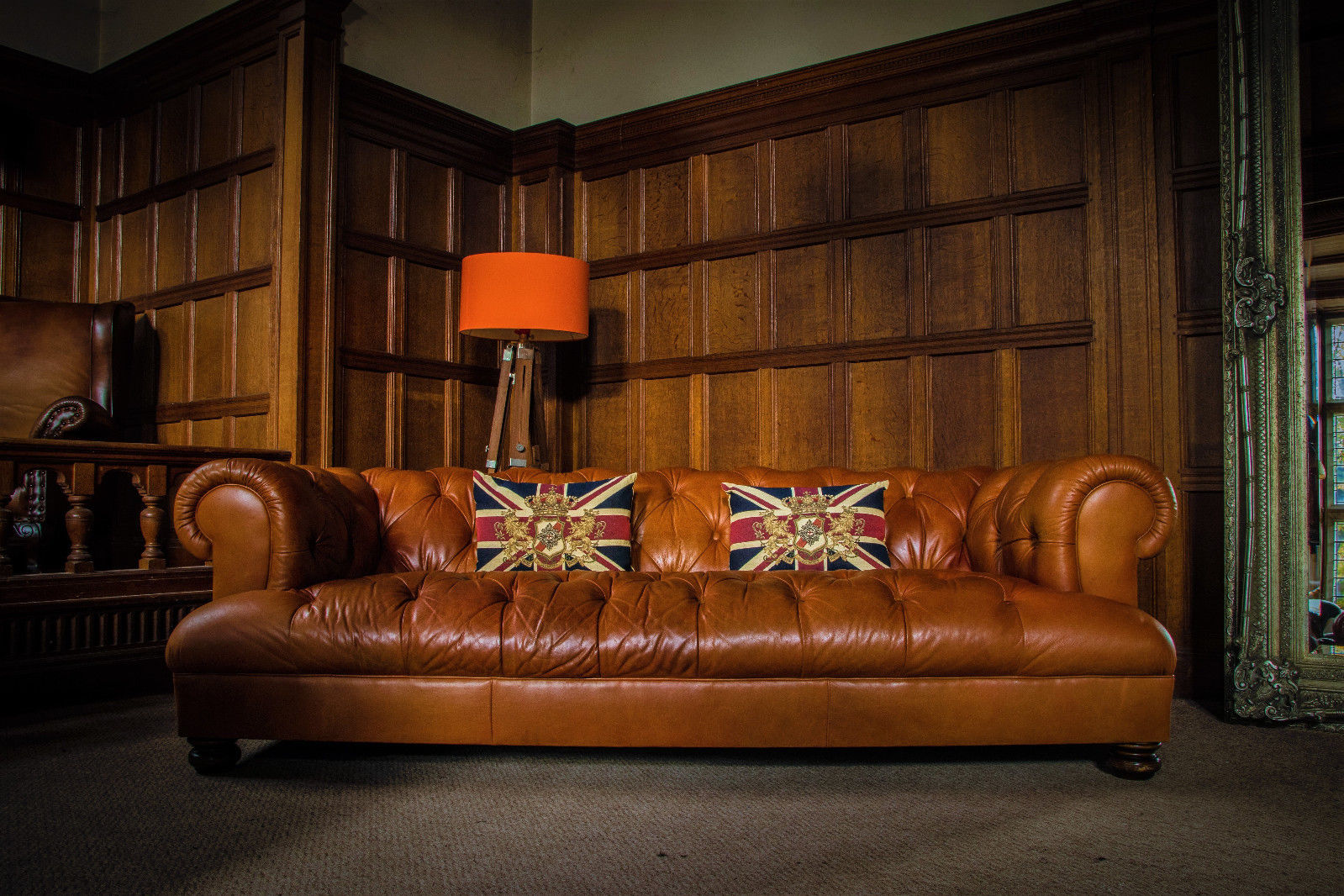 Astonishing F50 1140 Tetrad Grand Drummond John Lewis Tan Leather Chesterfield 3 4 Seater Club Sofa Forskolin Free Trial Chair Design Images Forskolin Free Trialorg